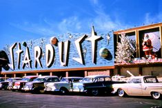 SPACE AGE CHRITMAS !!! … at the Stardust ... 1958 !!! … in fabulous Las Vegas, Nevada !!! …