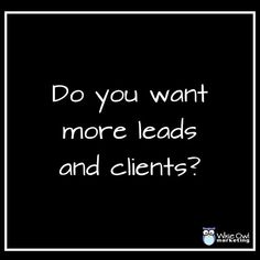 Entrepreneurs are always trying to grow their businesses and attract more clients. Sometimes they just don't know why they are not attracting more leads and here are some reasons. http://bit.ly/2r7A5ds
