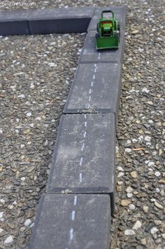 Imaginative Play - Paver Roads.