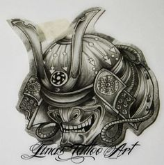 Best 25+ Samurai mask tattoo ideas