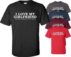 I love my girlfriend t shirt #valentine day gift #boyfriend #present mens top s-5,  View more on the LINK: 	http://www.zeppy.io/product/gb/2/262753360254/