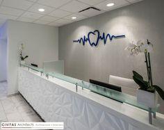 Dental office check out counter – Office Design 2020 Dental Office Decor, Medical Office Design, Pharmacy Design, Healthcare Design, Clinic Interior Design, Clinic Design, Design Offices, Modern Offices, Dental Reception