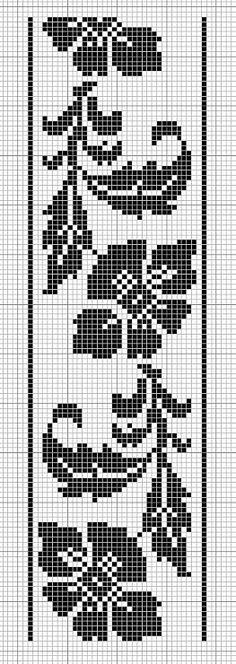 Gallery.ru / Фото #1 - Моно - romasya arts and crafts bell pull mini cross stitch