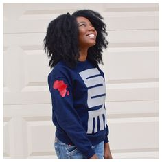 Ghanaian Adinkra symbol of initiative, dynamism and versatility Unisex crewneck sweatshirt. Fits true to size.PLEASE NOTE: THIS ITEM SHIPS AFTER CHRISTMAS
