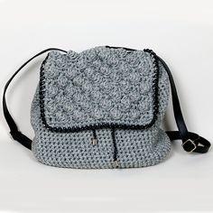 Handmade crochet backpack Crochet Backpack, Handmade Bags, Fashion Backpack, Backpacks, Handbags, Fall, Winter, Closet, Purses