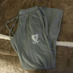 VS GREY BF SWEATS Size s , I might have worn them twice euc PINK Victoria's Secret Pants Track Pants & Joggers