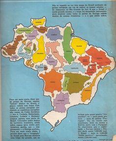 The true size of Brazil.  Num país, cabe toda a Europa Ocidental.