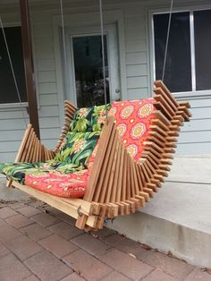 Diy Outdoor Furniture, Diy Furniture Plans, Deck Furniture, Furniture Projects, Woodworking At Home, Woodworking Projects Diy, Diy Wood Projects, Wood Crafts, Wooden Gear Clock
