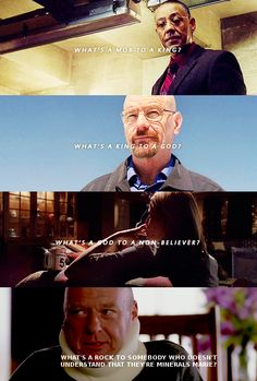 Breaking Bad in 4 lines