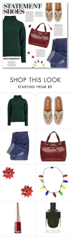 """""""#PolyPresents: Statement Shoes"""" by kellylynne68 ❤ liked on Polyvore featuring Lowie, TOMS, Kate Spade, contestentry, statementshoes and polyPresents"""