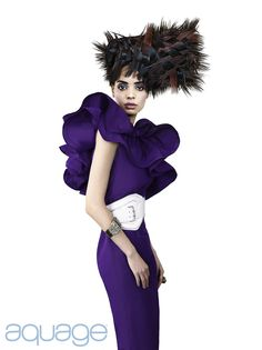Fiber Arts collection by Aquage platform artist Shelly Devlin featured in HOT by Hair's How July 2012