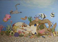Nina Pandolfo no fundo do mar ❤️