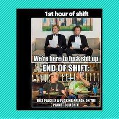 Before and after shift... ♥ FOLLOW us and tag your friends!♥ #nursebuff #nursehumor #nurselife #nursinglife #instanursing #nurseproblems #nursesofinstagram #rn #nursing #love #funny #twelveskip #follow #malenurseproblems