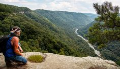 This trail has some of the best views in West Virginia.  Travel | West Virginia | Hiking | Things To Do | Nature | Foliage