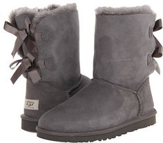 $204, UGG Bailey Bow. Sold by Zappos. Click for more info: https://lookastic.com/women/shop_items/126103/redirect