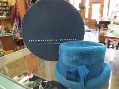 1960s Hats by Eddi. Mystere Fur Hat for Strawbridge & Clothier w Box