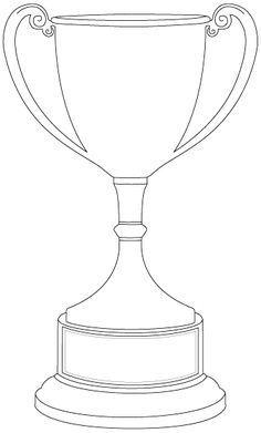 FIFA World Cup Trophy Coloring Page Soccer Pinterest