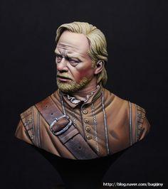 Captain 1607,Virginia (200mm Bust Figure, Resin, Painting for Box art of D toys) : 네이버 블로그