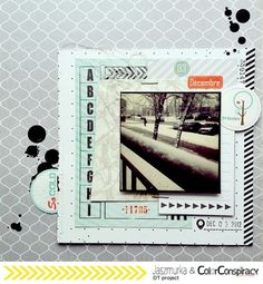 Jasz, Daily Kate collection, Texturize card, Iceland diecuts & EveryDay stickers