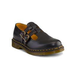 Double Strap Mary Jane #School_Uniform_Shoe