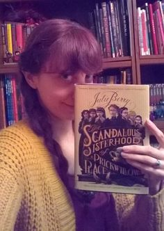 "Morgane's holiday pick for our Advent Calendar is THE SCANDALOUS SISTERHOOD OF PRICKWILLOW PLACE by Julie Berry. ""In a Victorian school for girls, the headmistress and her brother fall dead at Sunday supper. The 7 young students then decide to hide the curious deaths (and bodies) in order to remain together and free. Extremely entertaining, full of dark humor, wit, mystery, and great characters. Berry must be, like a critic said, the child of Agatha Christie and David Sedaris!"""