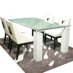 10 Excellent Crackle Glass Dining Table Ideas Photo  Maximo Best Ikea Glass Dining Room Table 2018