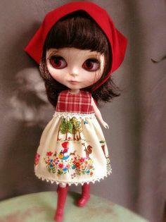 Little Red Riding dress