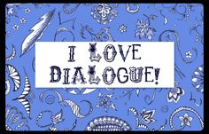 I'm all for change and trying new things. That in mind, I decided to share some of my former posts from my other blog, here. I started using I Love Dialogue, Sexy Without the Sex and First Me…
