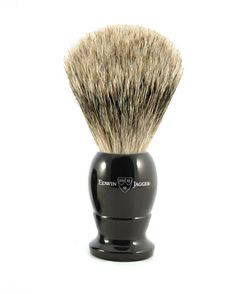 Edwin Jagger English shaving brush medium imitation ebony, Best badger-1EJ876 Edwin Jagger, Badger Shaving Brush, Medium, Brushes, English, Link, Image, Ideas, Blush