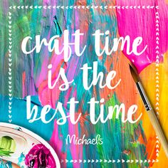 Craft time is the best time!