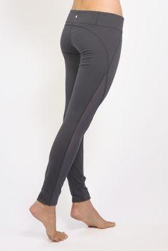 b67d23f036 Romance Lace-Up Mesh Yoga Legging (Black)