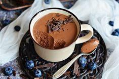 Buborékos francia csokoládékrém bögrésen | Rupáner-konyha