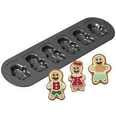wilton 6 cavity gingerbread family cookie pan baking suppliescake decorating supplieschristmas
