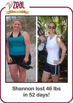 It really works!! Zeal for life challenge