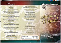 #MOVANIMART esterno 3ante saggio adulti ad by Brother's Art, http://brothersart.it/impaginati.html
