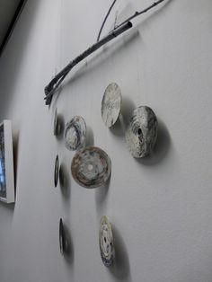 circling around nothing. altered CD installation. Ines Seidel