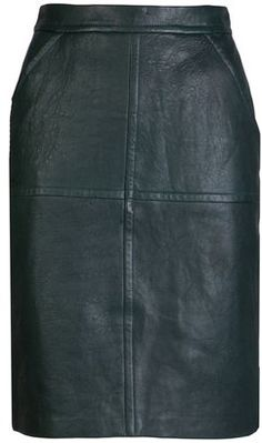 ShopStyle: Yigal Azrouel Leather skirt
