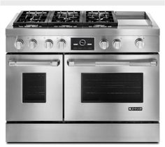 Jenn Air 48 Pro Style Dual Fuel Range With Griddle And Multimode Convection Contemporary Gas Ranges Electric