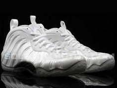 NIKE AIR FOAMPOSITE ONE WHITE/SUMMIT WHITE #sneaker
