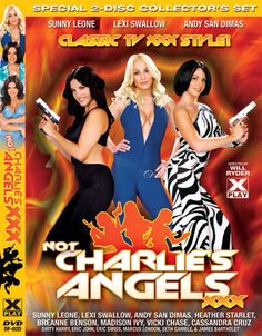 Charlie's Angels porn parody. That's funny shit.