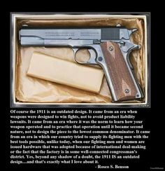 The Great Classic Colt 1911 Pistol