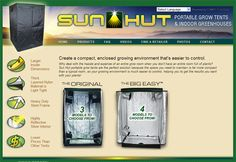 The new Sun Hut website is now up and running! More great information on portable grow tents and indoor greenhouses! http://www.sun-huts.com/