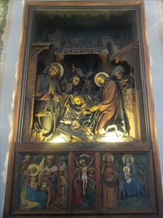 In the Holy Night chapel. Oberndorf, Salzburger Land