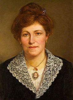 Portrait of Rosetta Harris, née Lucas, 1918 by George Frederick Harris (1856–1926)