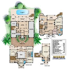 Mediterranean Style Home Plan Catania II House Plan By Weber Design Group |  Architecture U0026 Planning | Mediterranean House Plans | Pinterest | Catania  And ...