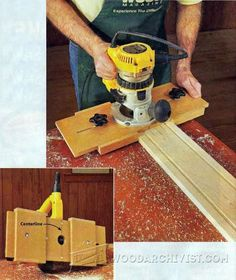 DIY Fluting Jig - Woodworking Tips and Techniques | WoodArchivist.com