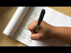Abecedario #2 - Tutorial lettering - Rotulador tombow dual brush - UGDT - YouTube Tombow, Youtube, Lettering, Scrap, Alphabet, Tutorials, Lyrics, Drawing Letters, Youtubers