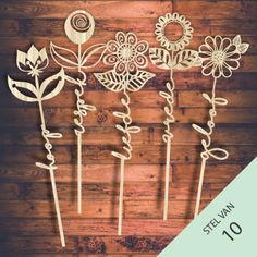 Product 10 Afrikaans Word-flowers. Vector templates free designs daily @ shop-msl.com Laser Cutter Ideas, Laser Cut Patterns, Cute Cuts, Packaging Ideas, Free Downloads, Templates Free, Wood Work, Kids Decor, Doll Houses