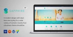 Download and review of Sapphire - Responsive Business WordPress Theme, one of the best Themeforest Corporative themes