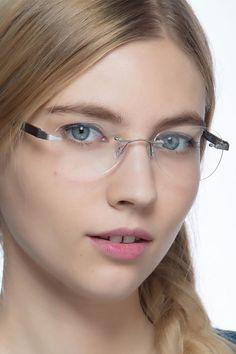 61c30b0ae6b Fragment Silver Brown Wood Texture Eyeglasses from EyeBuyDirect.